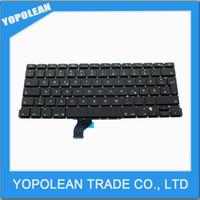 Wholesale New Laptop GR German Keyboard For Macbook Pro Retina A1502 Germany German Keyboard Replacement ME864 ME865 ME866
