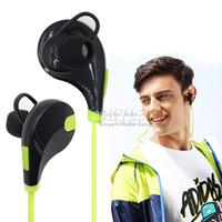 achat en gros de casque écouteur iphone-Écouteur intra-auriculaire Bluetooth QCY QY7 Écouteur stéréo Bluetooth 4.0 Écouteurs stéréo à mode Écouteurs à musique Studio Écouteurs avec micro dans un boîtier de vente au détail