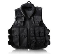 Wholesale Tactical vest Black Kid s Tactical Vest For Outdoor Game Training Scouting Cosplay Protective Equipment Children Vests Clothing