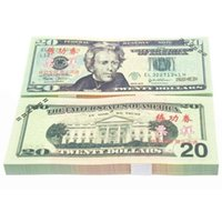 Wholesale Dollars Fake Paper Money Bank USA Training Collect Learning Banknotes Set