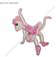 angelina ballerina - 4 quot Large ANGELINA BALLERINA Movie TV Series Patch Cosplay Costume Embroidered Emblem iron on sew on badge applique