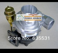Wholesale Free Ship GT2870 GT28 GT2871 compressor housing A R turbine A R T25 Flange Oil bolt actuator HP HP Turbocharger