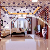 Wholesale Modern Living Room Curtain Wedding Decorations M Modern Crystal Glass Waterdrop Curtain Beads Screen Window Curtain