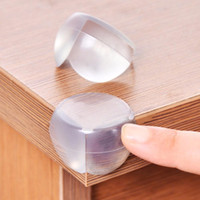 Wholesale Child Baby Safety Silicone Protector Table Corner Protection Cover Children Anticollision Edge Corner Guards Furniture Protector
