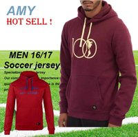 Wholesale DHL LIGA MX Mexico CLUB AMERICA Years Centenary Hoodie red Jackets Soccer Jerseys Maillot de foot tracksuits N98 football shirts