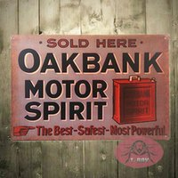 man ray art - T Ray TIN SIGN Rustic Oakbank Motor Spirit Oil Metal Decor Wall Art Store Man Cave poster