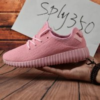 Cheap 2017 Adidas original Discount Yeezy 350 Boost Tan Boost Top Quality Kanye West Yeezy 350 Men Women Yeezy Trainers Shoes Top Quality With Box