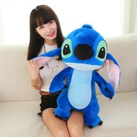 Wholesale Giant Large Big Lilo Stitch Stuffed animals Plush Baby Soft Toys Doll for baby children best birthday gift