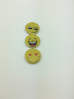 Wholesale hot sell high quality very cute emoji circular Dia mm rifd epoxy keychain cards for door login