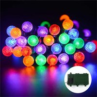bargain christmas lights - Big bargain lederTEK Colorful Bright Battery Operated Outdoor Globe Led String Lights Mode Automatic Timer and Indicator Light