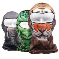 Wholesale New Brand D Animal Dog Cat elephant Sports Face Mask Cap Bicycle Cycling Fishing Motorcycle Masks Ski Balaclava Full Face Mask