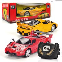 Wholesale RC Cars Boys Diecast Model Kids D Remote Control Toys Plastic for Children Cartoon Birthday Gift Fashion