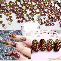 best glue for rhinestones - Beyond Better Best Rhinestones ss3 ss30 Size Rainbow decorations for Nail Art Non Hotfix Glue Art round faceted glass flatback rhinestones