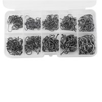 Wholesale Fishing Sizes cm Black Silver Fish Fishing Sharpened Hooks Box Tackle Practical Lures Deep Diving Lure