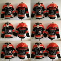 Wholesale Men s Stadium Series Hockey Philadelphia Flyers Jakub Voracek Shayne Gostisbehere Claude Giroux Ron Hextall hoodie jerseys