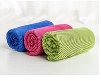 bamboo yoga - 30 cmCool towel Summer cooling towels dual layer sports outdoor ice cold scaft scarves Pad quick dry washcloth necessity for Fitness Yoga
