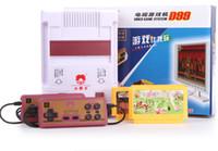 Wholesale Game consoles NES games Subor classic cassette game machine hongbai machine d99 free IN card