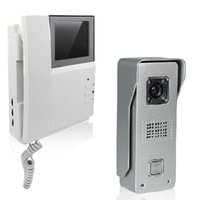 Wholesale Wired Video Door Phone Inch Handset Type And Intercom Systerm Exquisite Appearance Infrared night vision