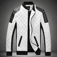 Wholesale 2016 Burst models Men Winter Jackets Youth Motorcycle Jackets Male Slim Korean Version Fat Collar Fat Guy Jacket Large Yards Winter S
