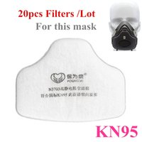 anti coal - 10Pcs Mask Filter Cotton KN95 Anti Dust Grinding Fiber Half Mask Coal Mine Sanding Paint Protection Filter Protection Tools