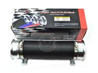 air exhaust tube - VHQ Turbo Flexible Air Intake Tube Silver Blue Red universal fitment