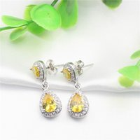 antique sapphire earrings - The new jewelry fashion earrings antique crystal stud earrings Brincos women jewelry gifts