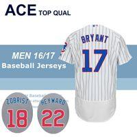 Wholesale 2016 World Series Champions Patch Chicago Cubs Kris Bryant Jason Heyward Ben castro Zobrist Jersey Baseball Jerseys