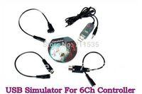 Compra Transmisor esky-Venta al por mayor-Reflex XTR USB Flight Simulator Cable para controlador de helicóptero de 6Ch RC, Transmisor JR Futaba Esky WFLY DYNAM, FMS Software