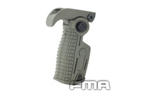 Wholesale FMA New Nylon made Foldable Vertical Foregrip with Extend Leg Foldable Grip For Pictionary Rail