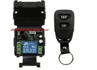 access transmitters - new DC V A CH Wireless RF Remote Control Switch Transmitter Receiver For Access door System
