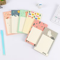 Wholesale 1 Office Stationery Notes Korea Cute notes Pages Sticker Post It Bookmark Point It Marker Memo Sticker Paper