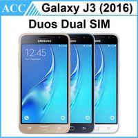 Wholesale Refurbished Original Samsung Galaxy J3 Duos J320 Dual SIM inch Quad Core GB RAM GB ROM G LTE Smart Mobile Phone Free Post