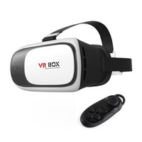 Wholesale 100X VR Box Gamepad Virtual Reality D Glasses Helmet VR BOX Headset For Smartphone inch inch with Retail Package A XY