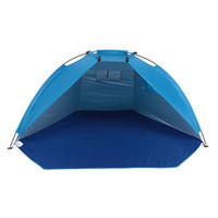 awnings for doors - Quick Opening Tent Beach Awning Sun Shelter Half Open Waterproof Tent Shade Ultralight for Outdoor Camping Fishing Picnic Park