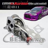 Wholesale BPRACING Tubular Manifold For Mitsubishi Lancer Evolution X B11 Turbo