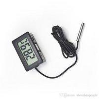 Wholesale 2016 Hot Sale Brand New Cheap Mini small Mini Digital LCD Electronic Thermometer Combo dhl