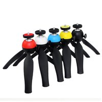 Wholesale PC Tripod Traveling Tropod Easy Carring For Camera Digital Camera Self Timer Smartphones For iphone Android