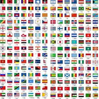 bicycle set stickers - 12 piece set choose any countries flag all country flags reflective cm cm stickers for face car bicycle laptop