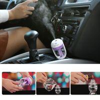 Wholesale Car Freshener Mini Air Humidifier Diffuser Essential Oil Ultrasonic Aroma Mist Purifier ml