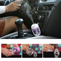 Precio de Car air freshener-Desodorante de coche Mini aire humidificador difusor aceite esencial Ultrasonido aroma purificador de niebla 50ml