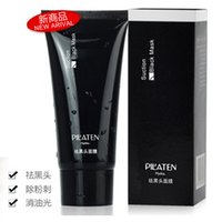 Wholesale PILATEN Tearing style Deep Cleansing purifying peel off Black head Close pores facial mask black head pore strip