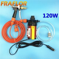 Wholesale V W High Pressure Self priming Electric Car Wash Washer Washing Machine Water Pump with Cigarette Lighter Home Cleaner