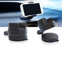 Wholesale Car Mount Rotating Clip - Hot Car Holder Windshield Mount Bracket for Iphone 6 Mobile Phone Holder Rotating 360 Degree multi car mobile phone mat stands Free Shipping