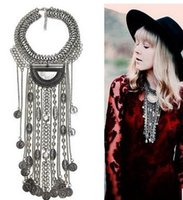 Wholesale Europe and the United States alloy sautoir tassel restoring ancient ways