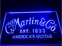 martin guitar - Martin Guitars Acoustic Music beer bar pub club d signs led neon light sign man cave