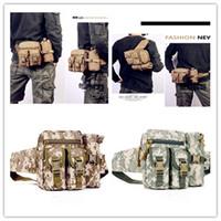 Wholesale Multi functional composite camouflage pockets Kettle pocket bag tactics