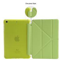 For Apple apple smart case ipadmini - For iPad Mini Smart Case Shapes Transformer Folding Cross With Automatic Sleep Wake Up Cover For iPadmini stylus pen
