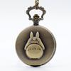 animated gems - My Neighbor Totoro Japanese Animated Film Movie Totoro Dial Quartz Pocket Watch Necklace Men Women Boy Girl Pocket Fob Watch