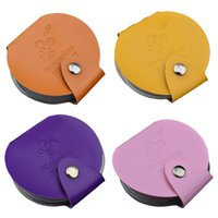 Wholesale New slots Nail Art Image Plate Leather Folder Holder Case Nail Polish Stamping Stencil Disc Album Templates