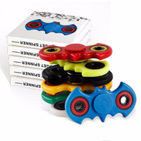 Wholesale Bat Shape Tri Spinner Fidget Toy Plastic EDC Hand Spinner For Autism and ADHD